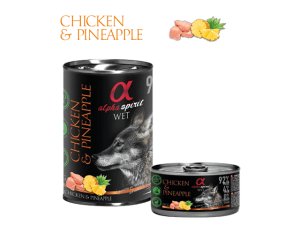 Monoprotein piletina i ananas 400g