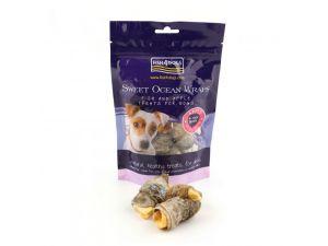 Fish 4 Dogs Sea Wraps Sweet Apple 100g